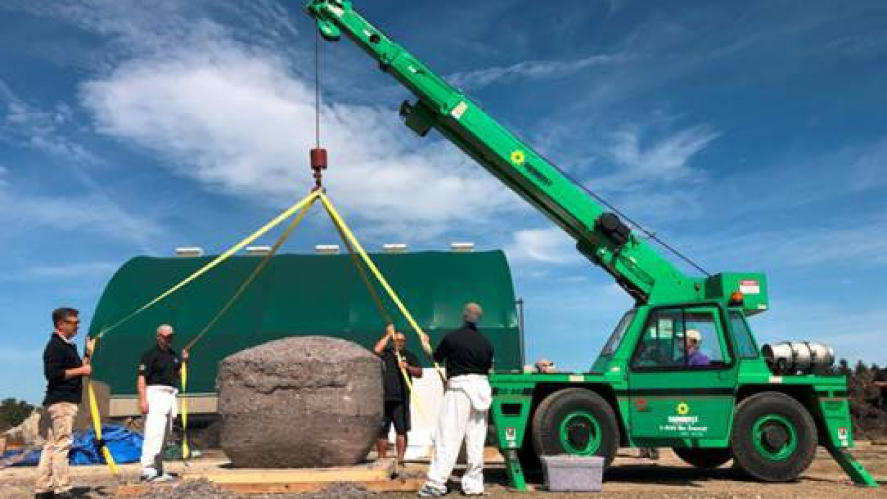 A record-breaking lint ball weighing 690 pounds was created to raise awareness about dryer fires