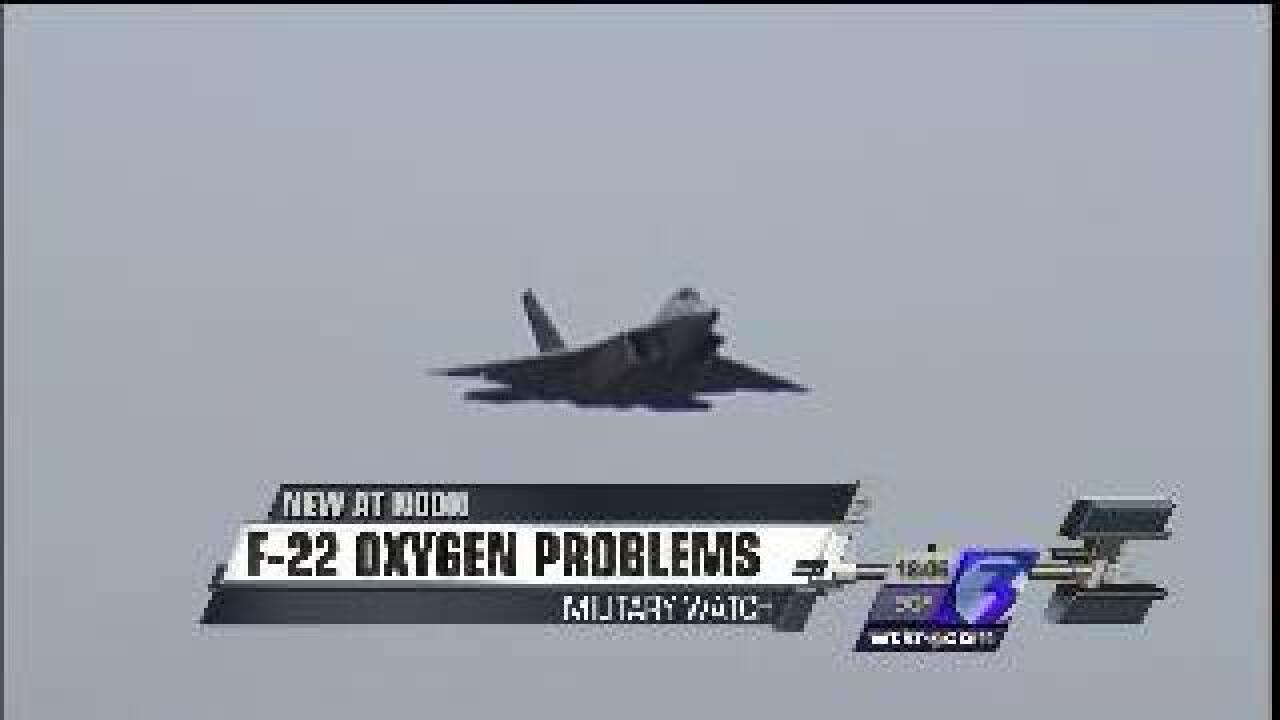 Langley investigates another incident with F-22