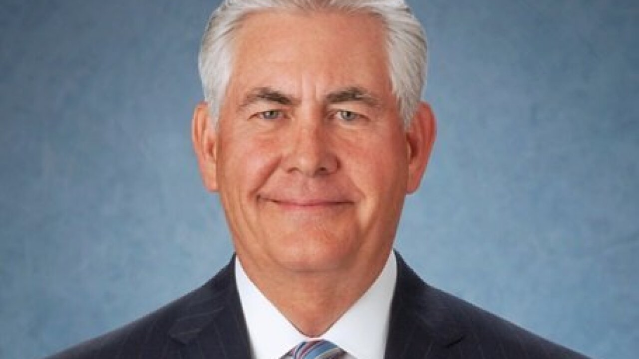 Rex Tillerson breaks with Trump on foreign policy issues