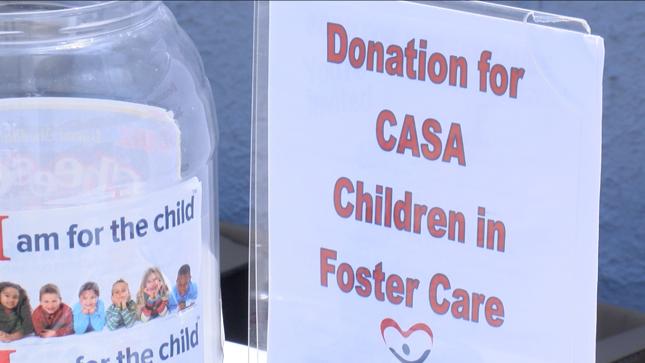 Volunteers with CASA come together for a Latin cuisine