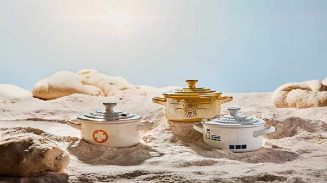 This New 'Star Wars' Kitchen Collection Has A Roasting Pan With Han Solo On The Lid