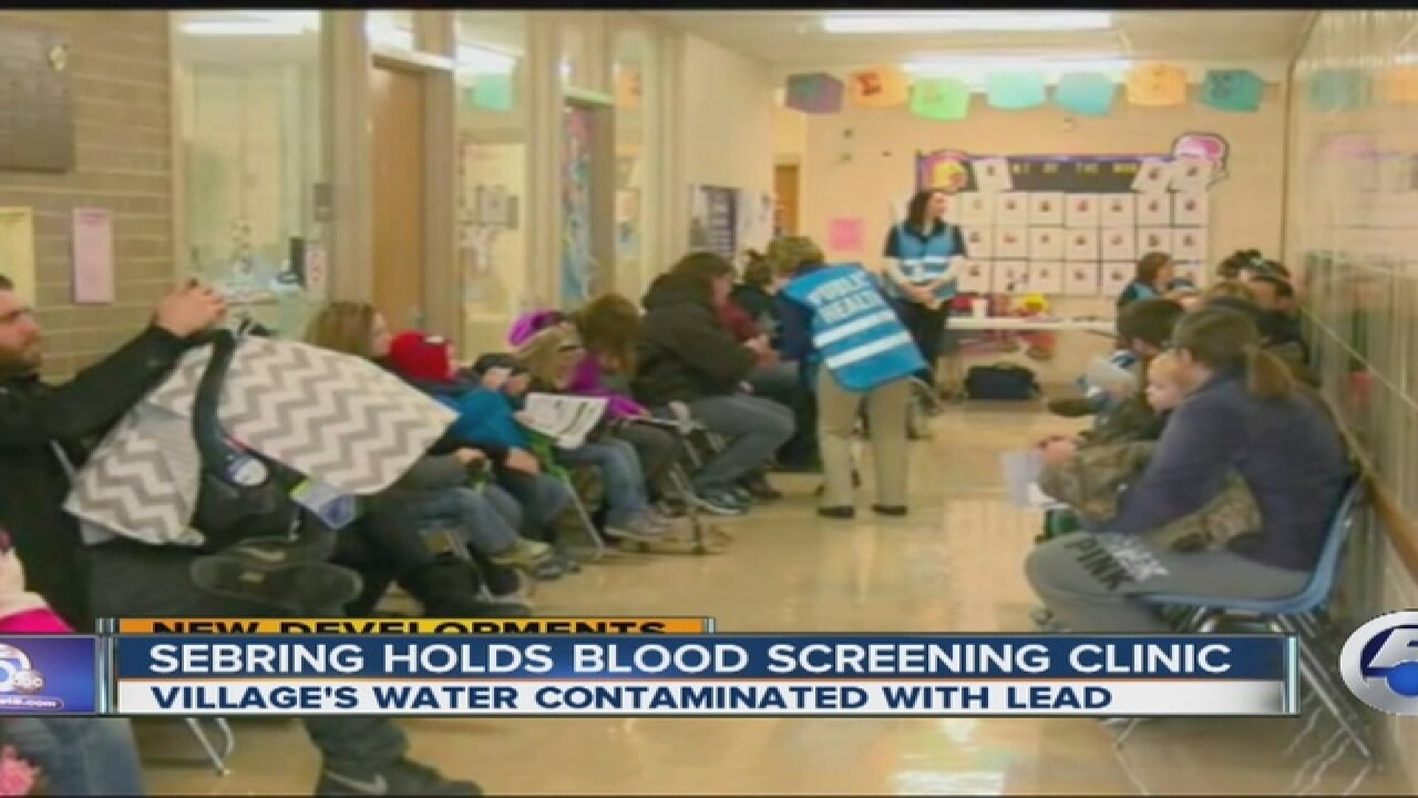 School district cancels classes for water tests