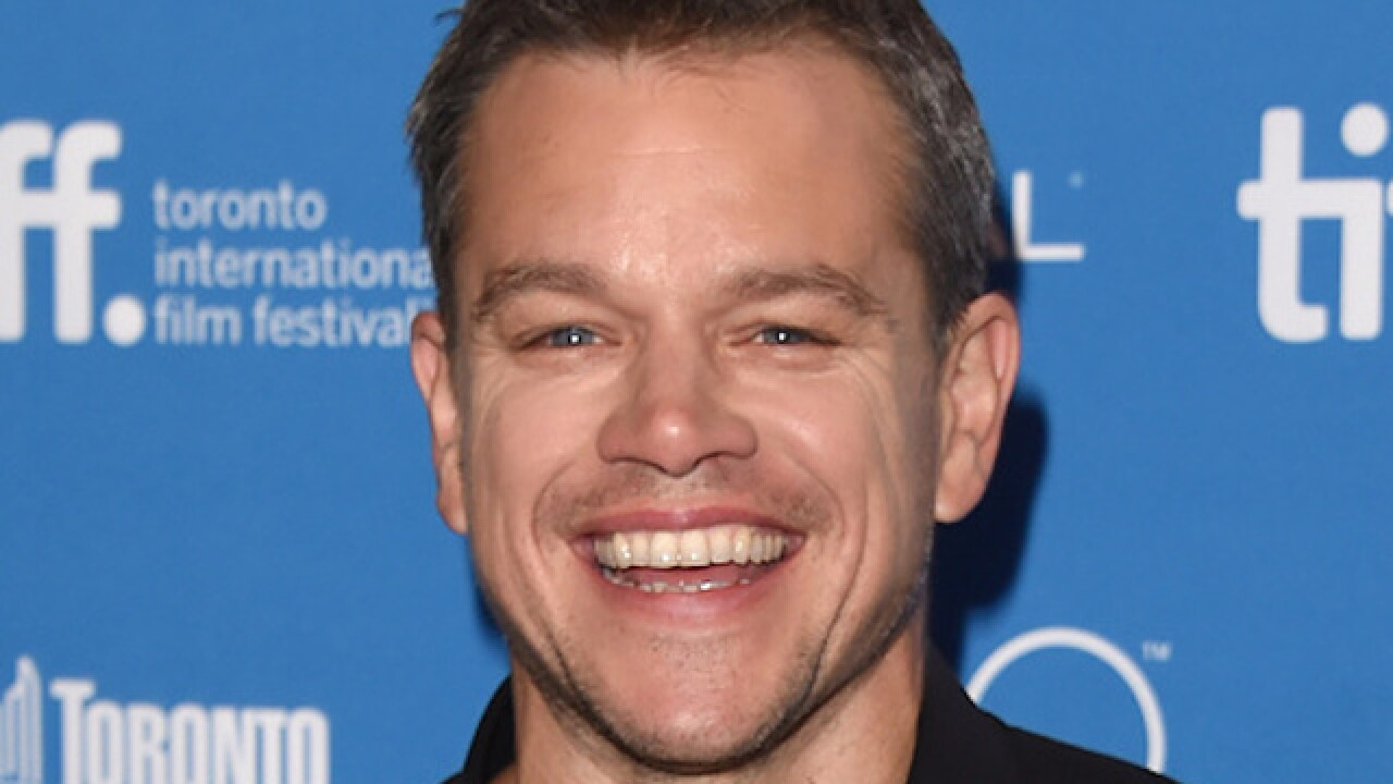 Matt Damon to give commencement speech at MIT