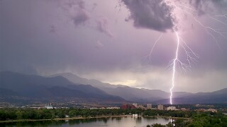 Lightning Colorado Springs