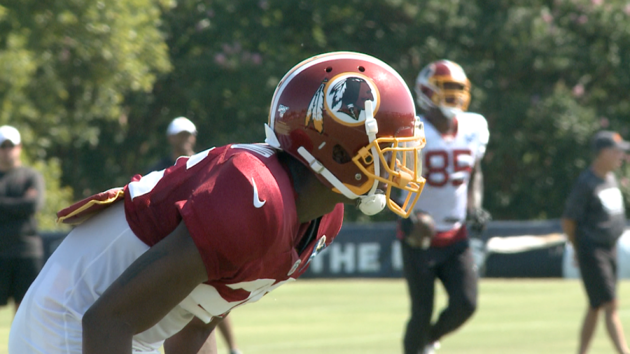 'Skins scoop: Defensive back Jimmy Moreland impresses early in training camp