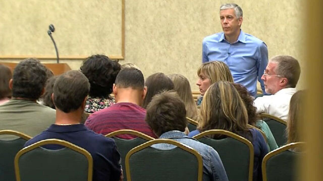 Former Education Secretary Arne Duncan visits South Florida, outlines plan to take on NRA