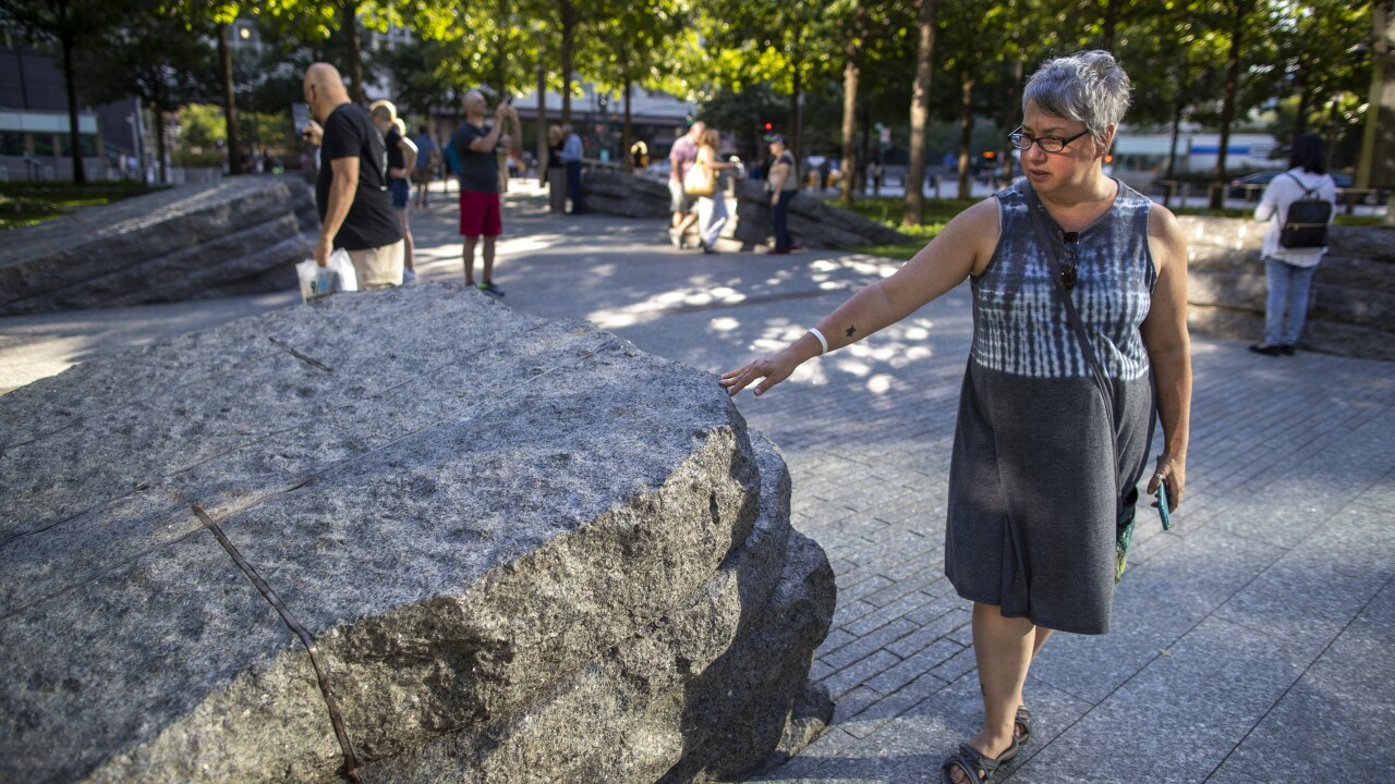 Sept 11 Evolving Memorial