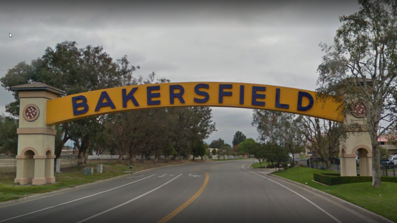 Bakersfield City Sign