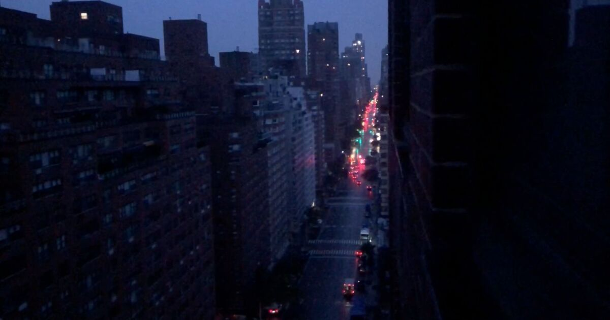 Widespread power outage across Upper Manhattan early Friday