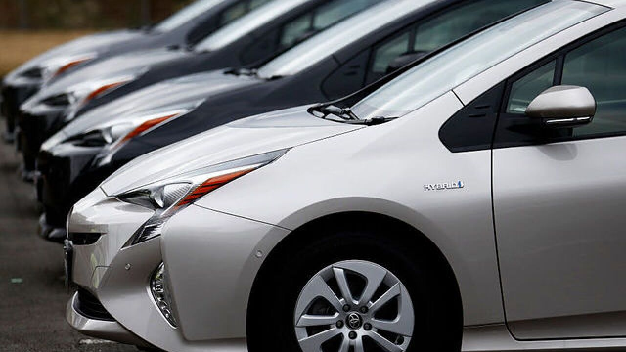 Toyota is recalling 1 million hybrids at risk of catching fire