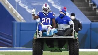 Zack Moss injury