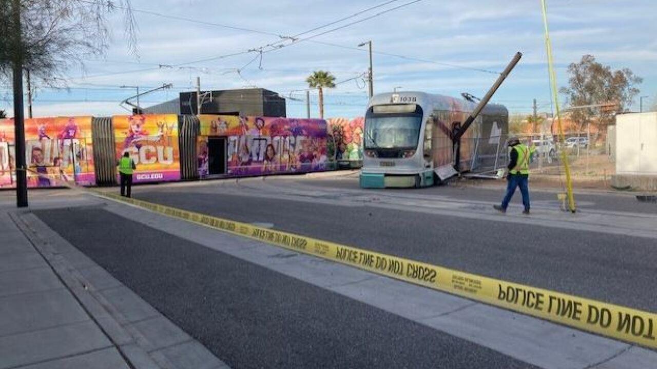 Light Rail Accident - 12h St and Washington