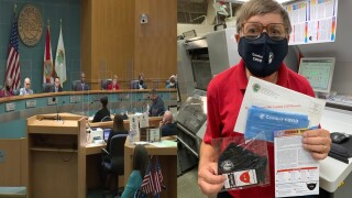 Palm Beach County mails masks to residents