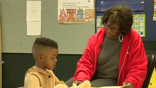 Grandparent program gives seniors and little ones a chance to bond.