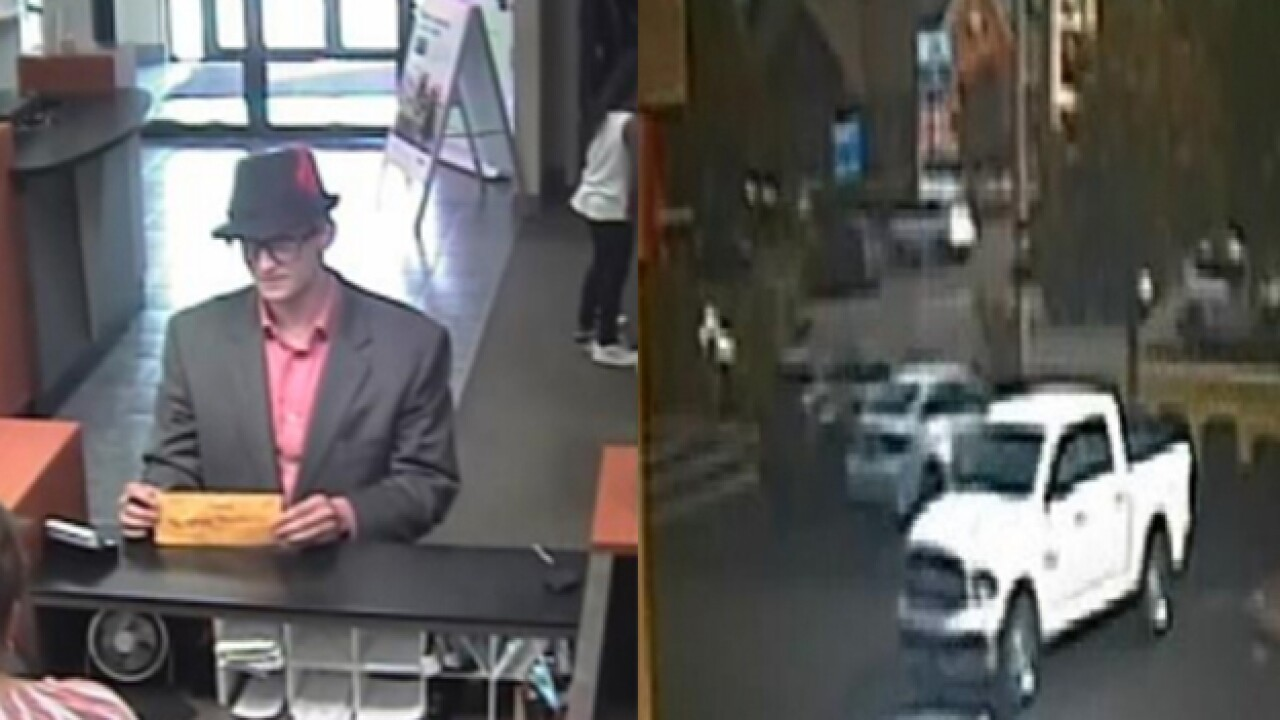 Professionally-Dressed Bank Robber Hits Again