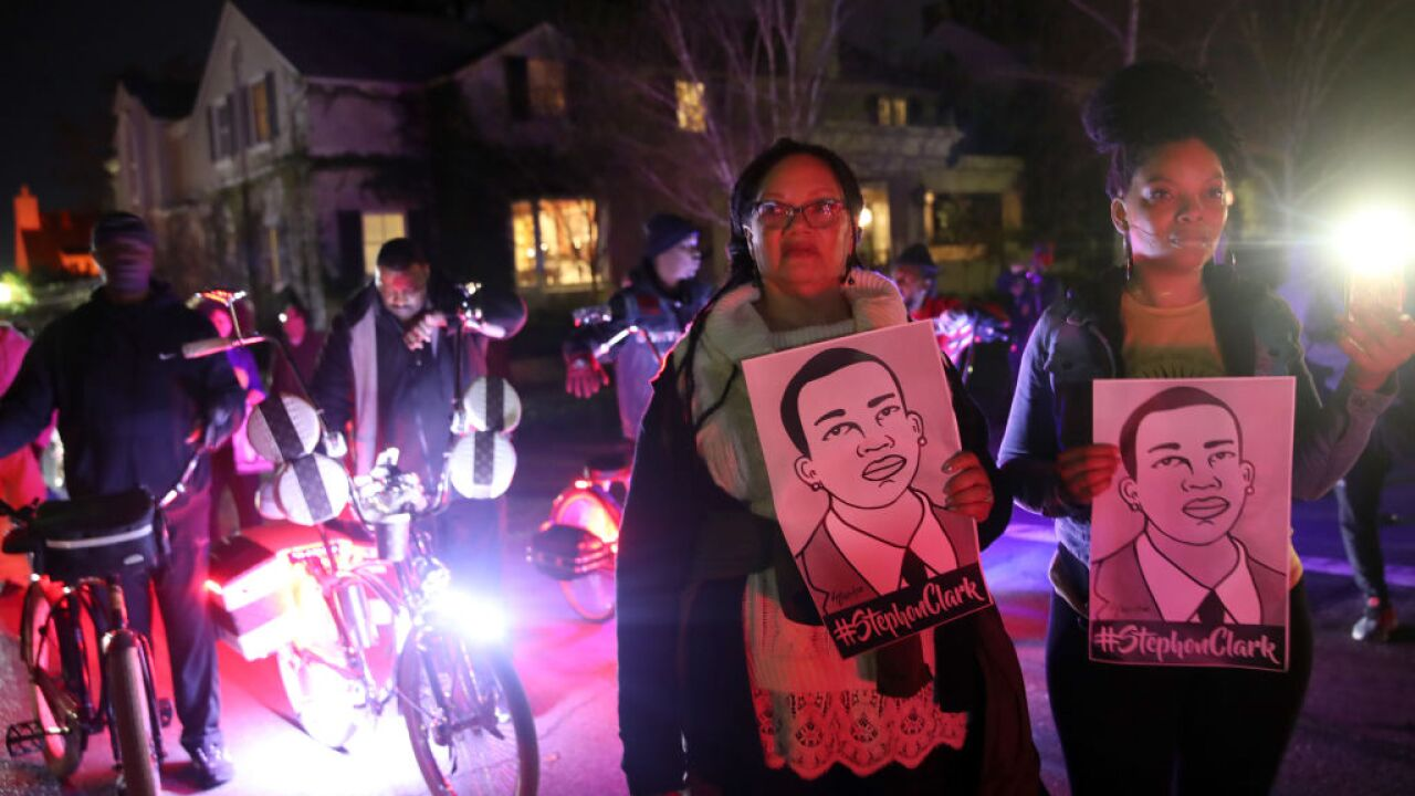California AG won't bring charges against officers who shot Stephon Clark