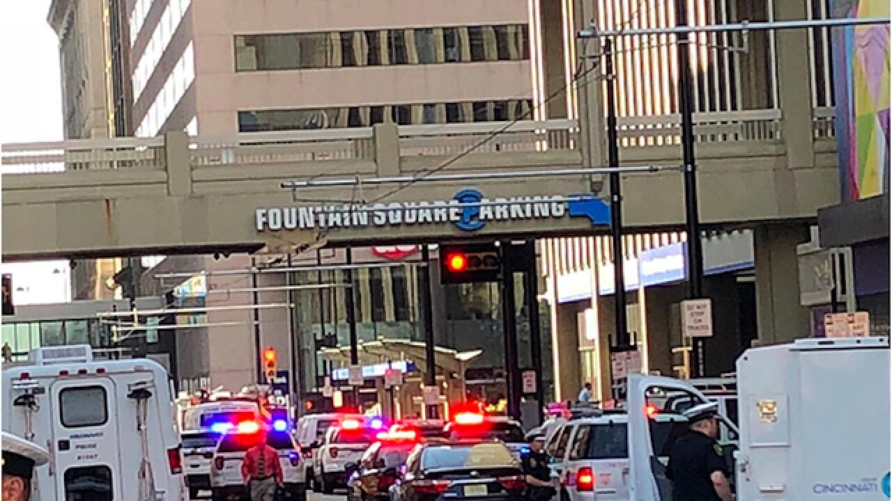 Active shooter reported in downtown Cincinnati