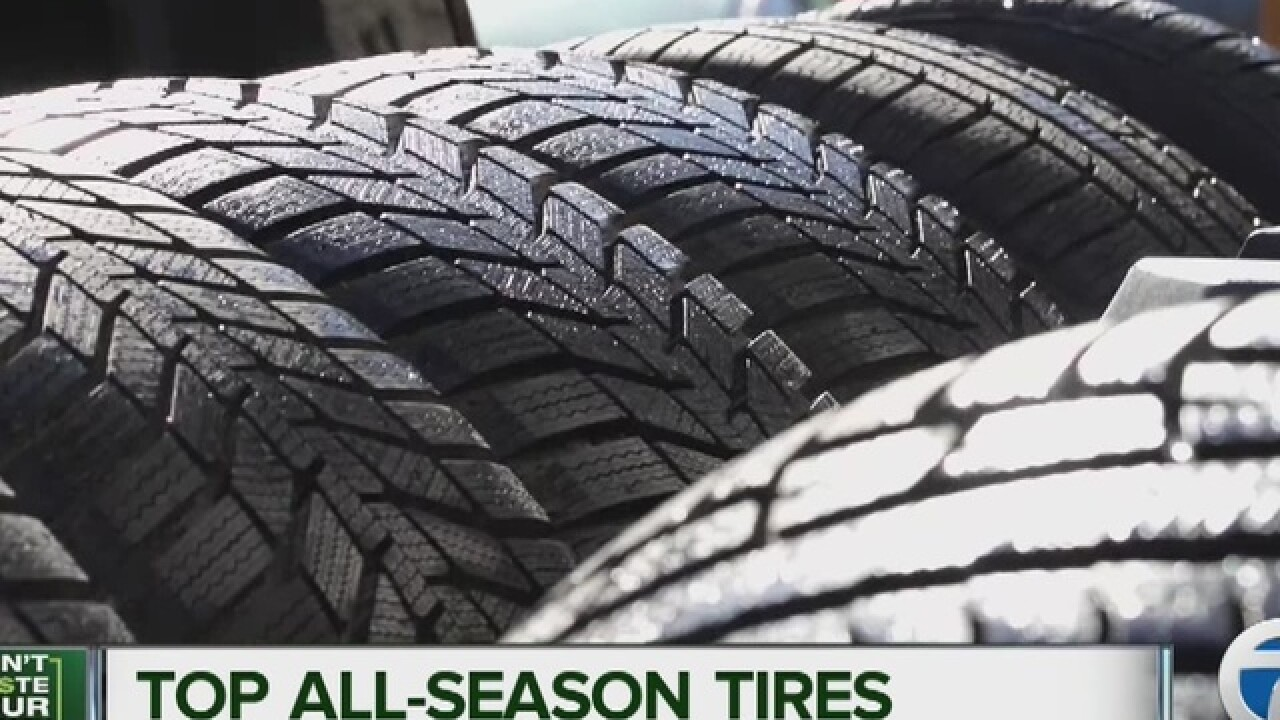 Consumer Reports: Top all-season tires