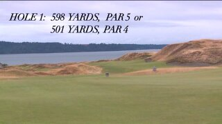U.S. Open hole-by-hole preview: Hole #1, Chambers Bay Golf Links