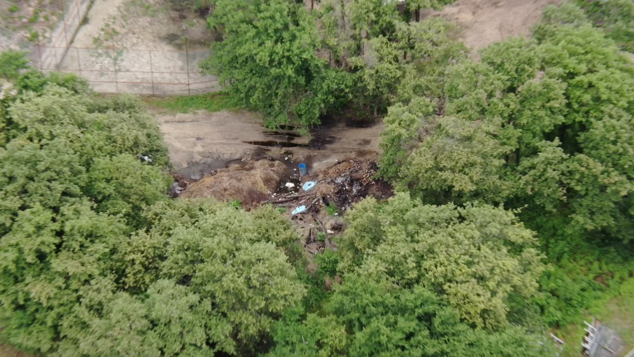 Drone images of Tiger King Park in Thackerville, OK