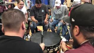 Drum group led by Blackfeet member nominated for Grammy award