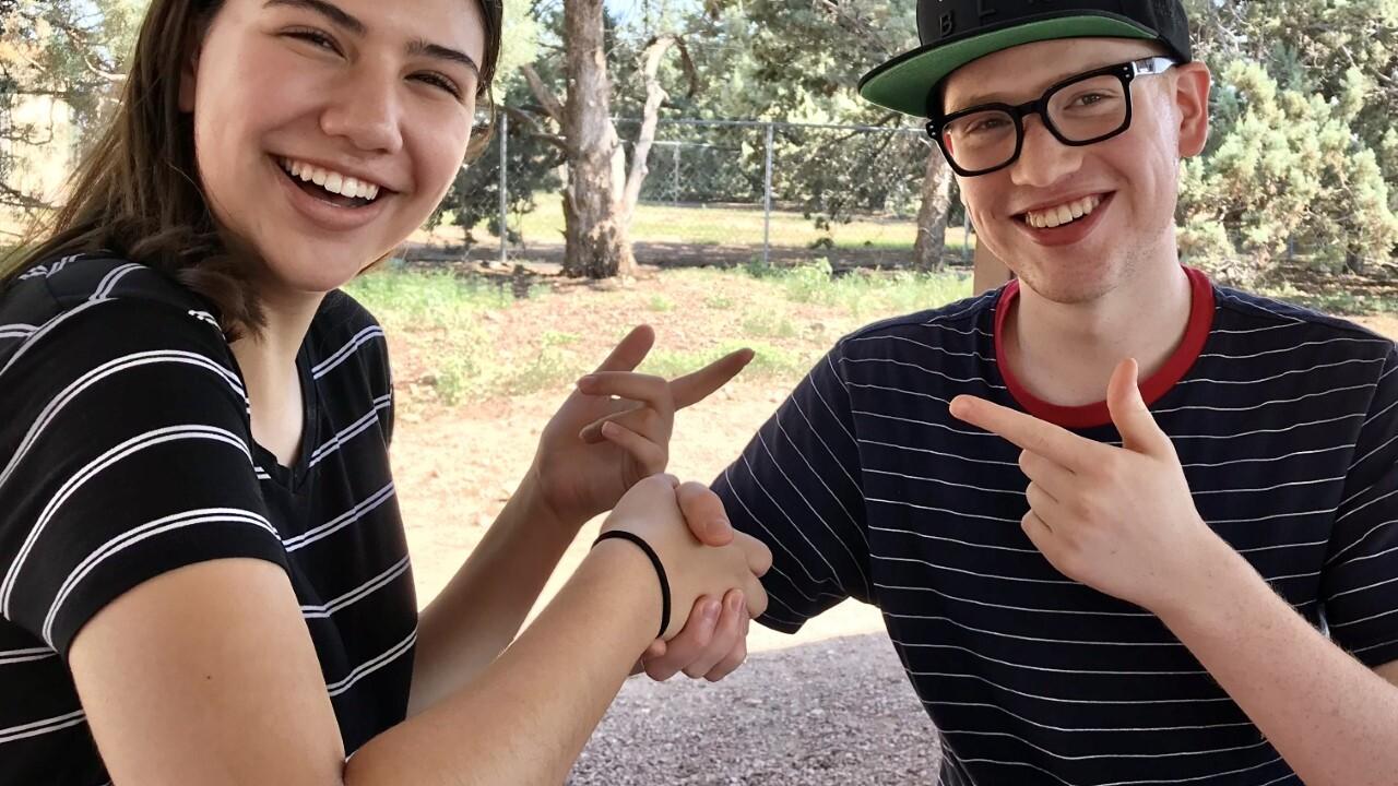 Jake and Emma Fay make quarantine song