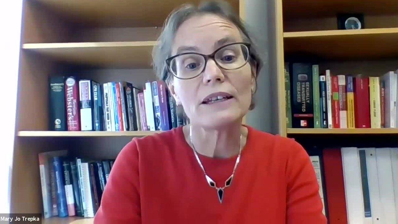 Epidemiologist Mary Jo Trepka