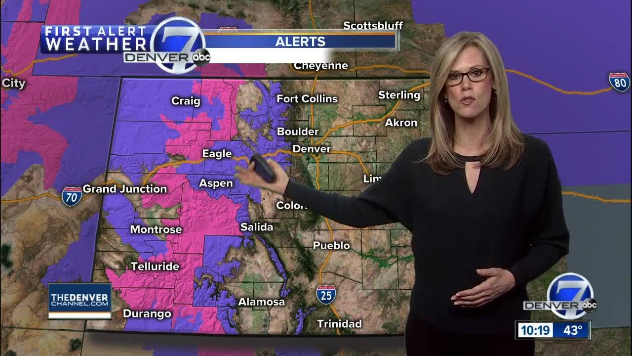 Cold front will hit Denver on Friday