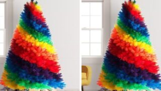 Rainbow Christmas Trees Are One Of The Hottest Holiday Trends This Year