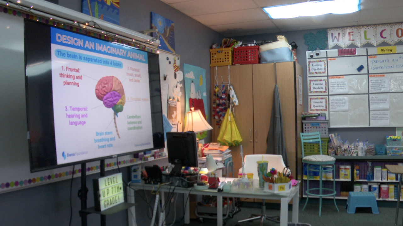 Sahuarita Unified School District classroom