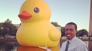 Share your photos of the giant rubber duck, Part 2