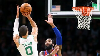 Jayson_Tatum_Detroit Pistons v Boston Celtics