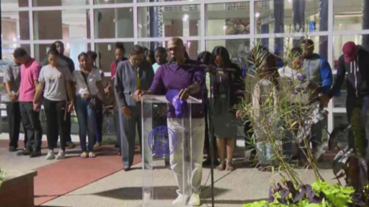Vigil Held For TSU Linebacker Suffering From Head Injury