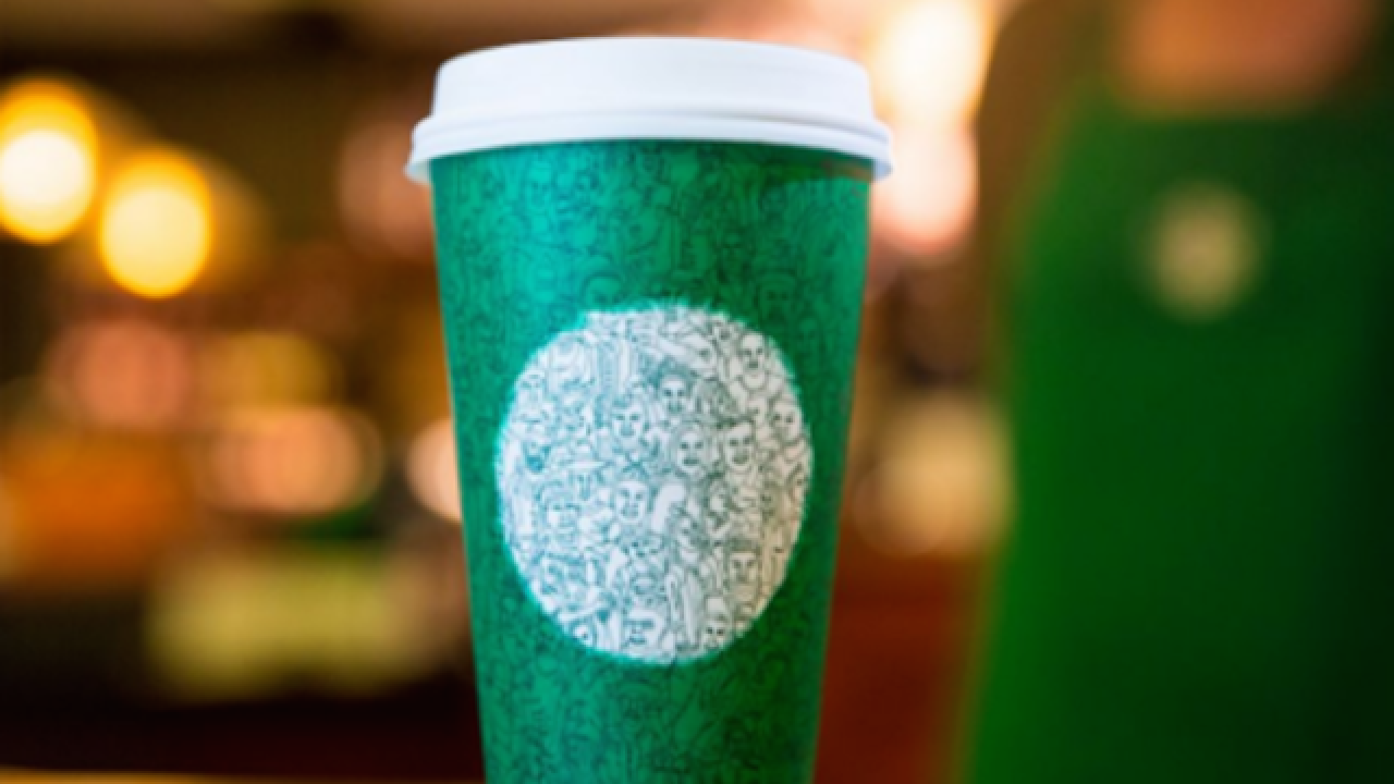 Starbucks unveils holiday cup design and drinks