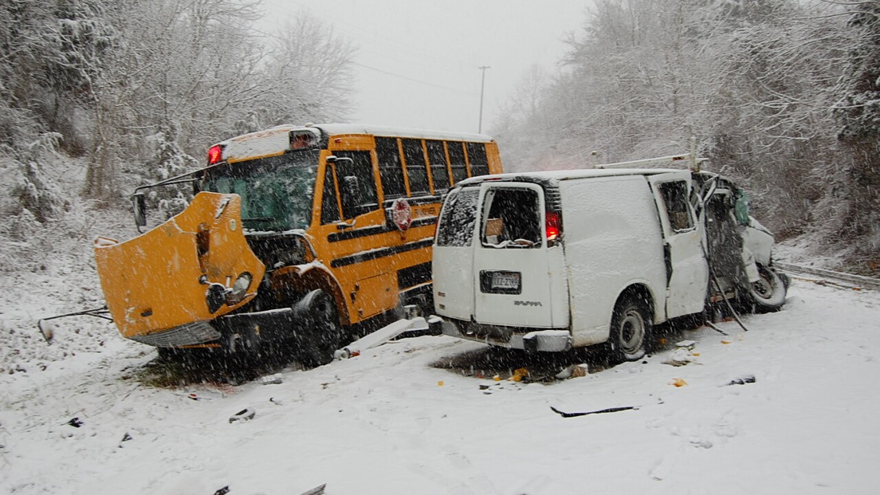 Man killed, several injured in Faquier County crash involving school bus