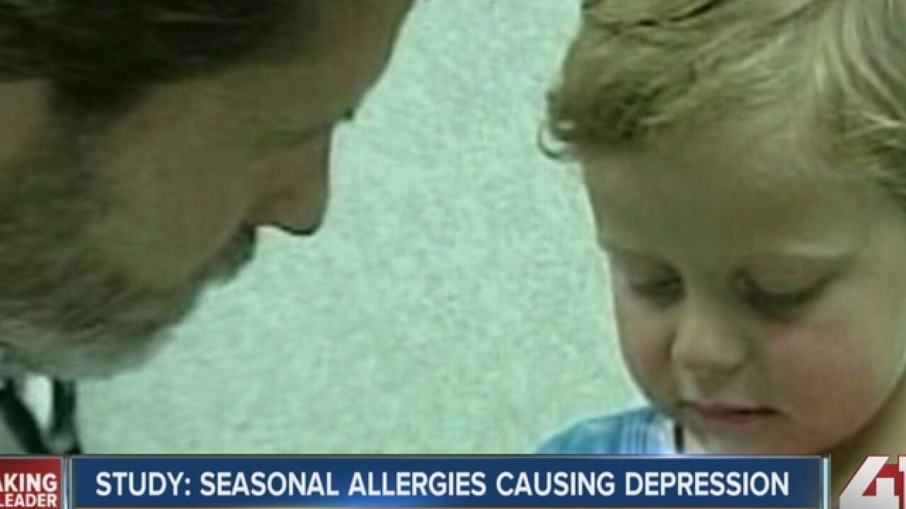 Allergies may increase chances for anxiety