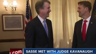 Sen. Sasse met with Judge Kavanaugh