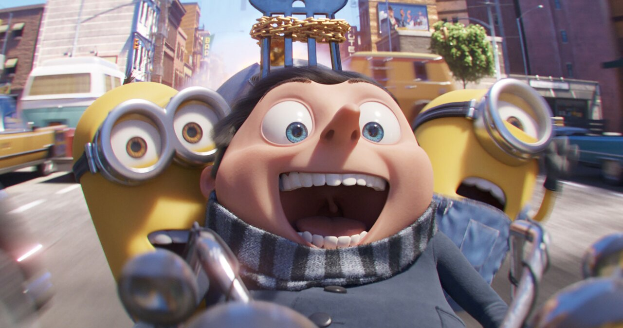'Minions: The Rise of Gru' promotional image
