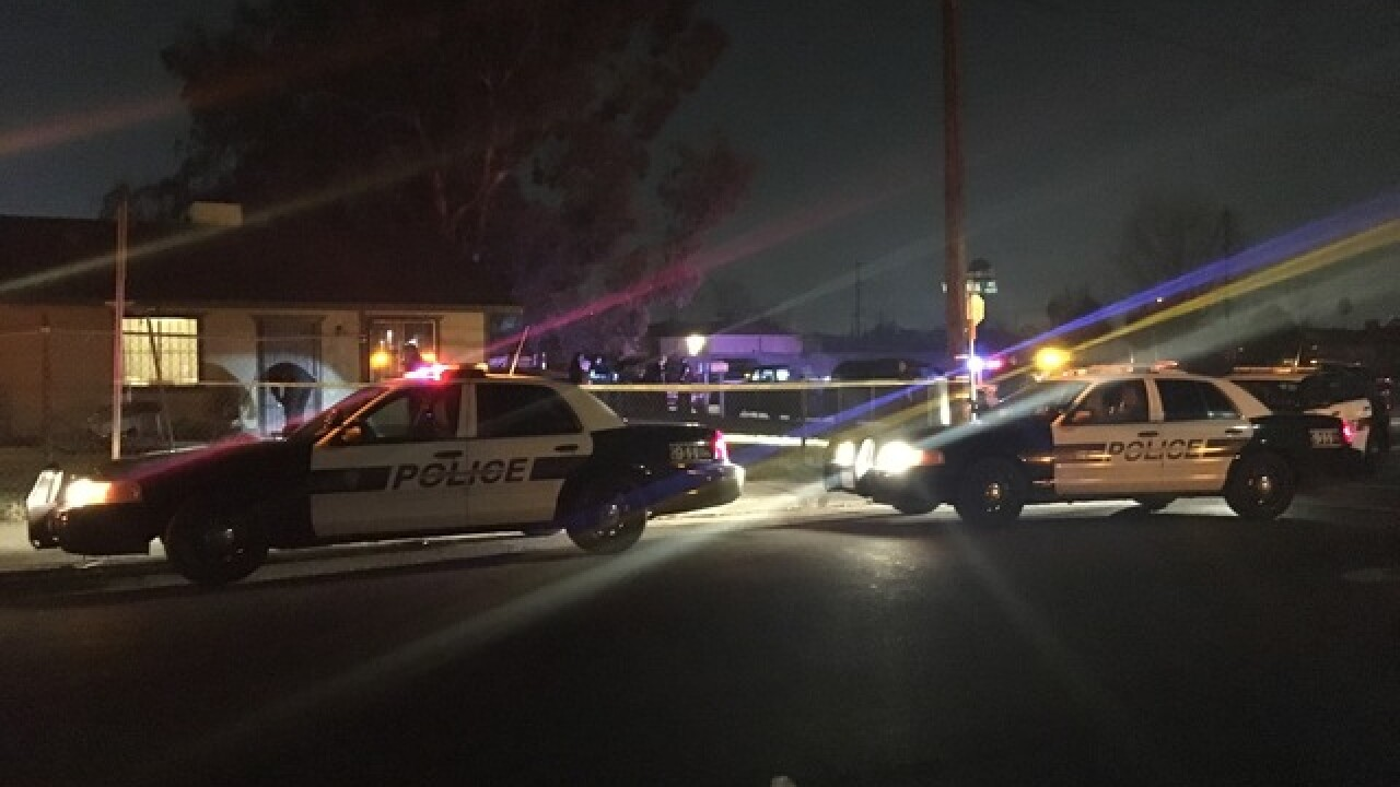 Bakersfield Police on scene of deadly shooting in east Bakersfield