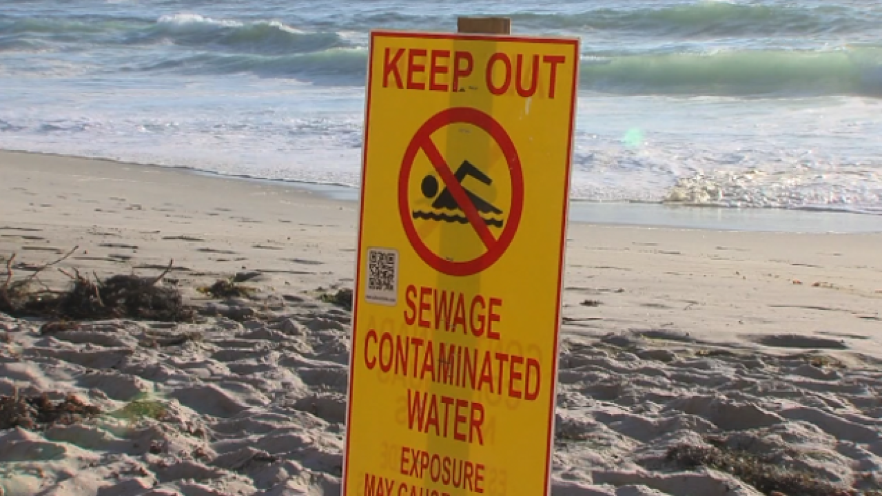Sewage-contaminated runoff in Tijuana River prompts Imperial Beach water closure