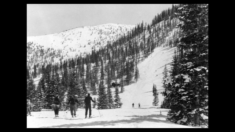 Monarch Ski Area Retro