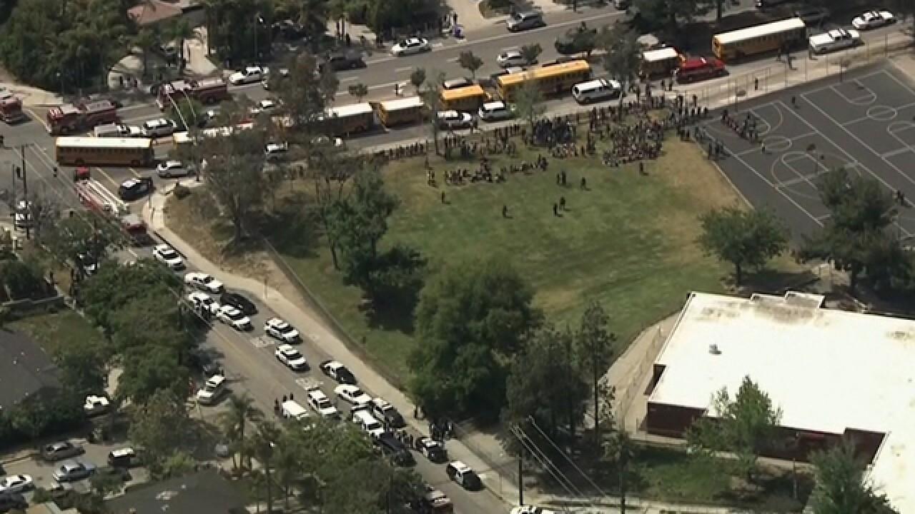 Shooting reported at CA elementary school