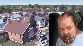 Senior citizen robbed, beaten with aluminum baseball bat on steps of church in southwest Detroit