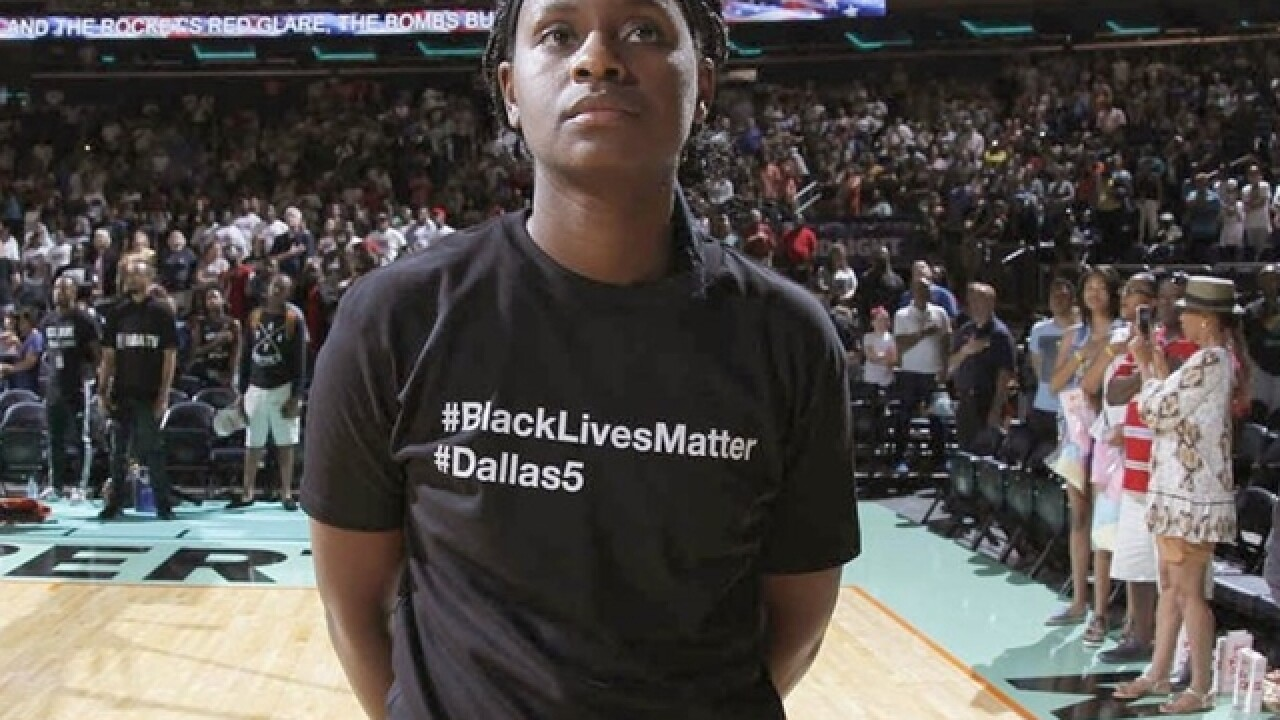 WNBA president lauds activism, wishes it was kept off court