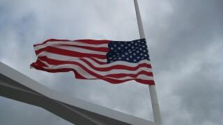 Flag Half-staff half staff American