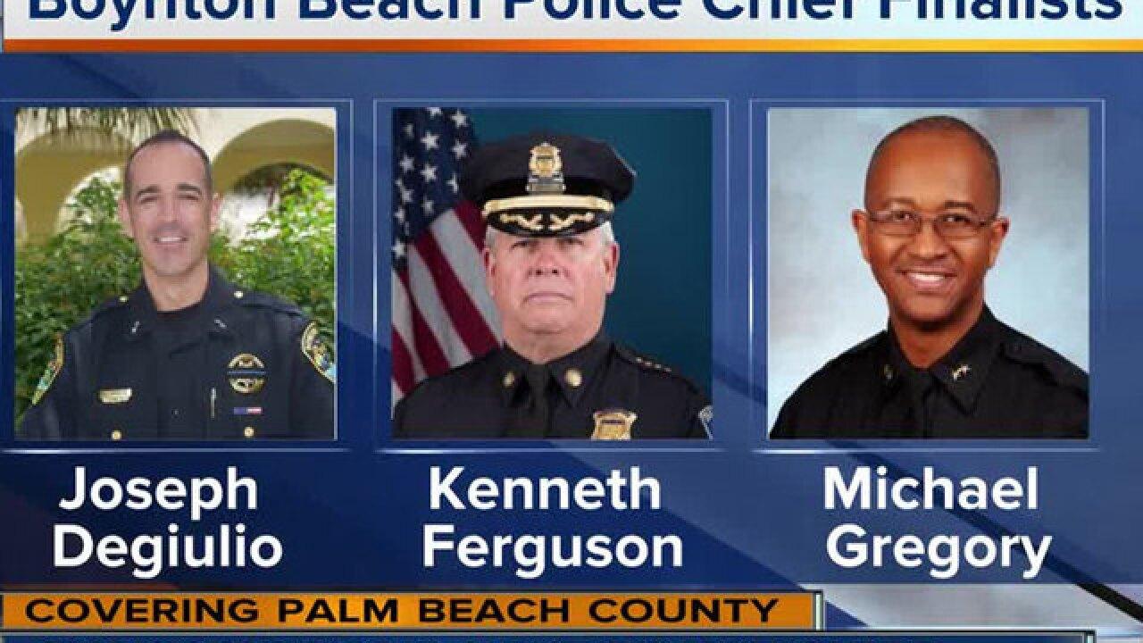 Boynton Beach names 3 finalists to become next police chief