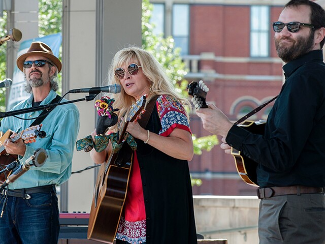 Over the Rhine performs free show at Washington Park