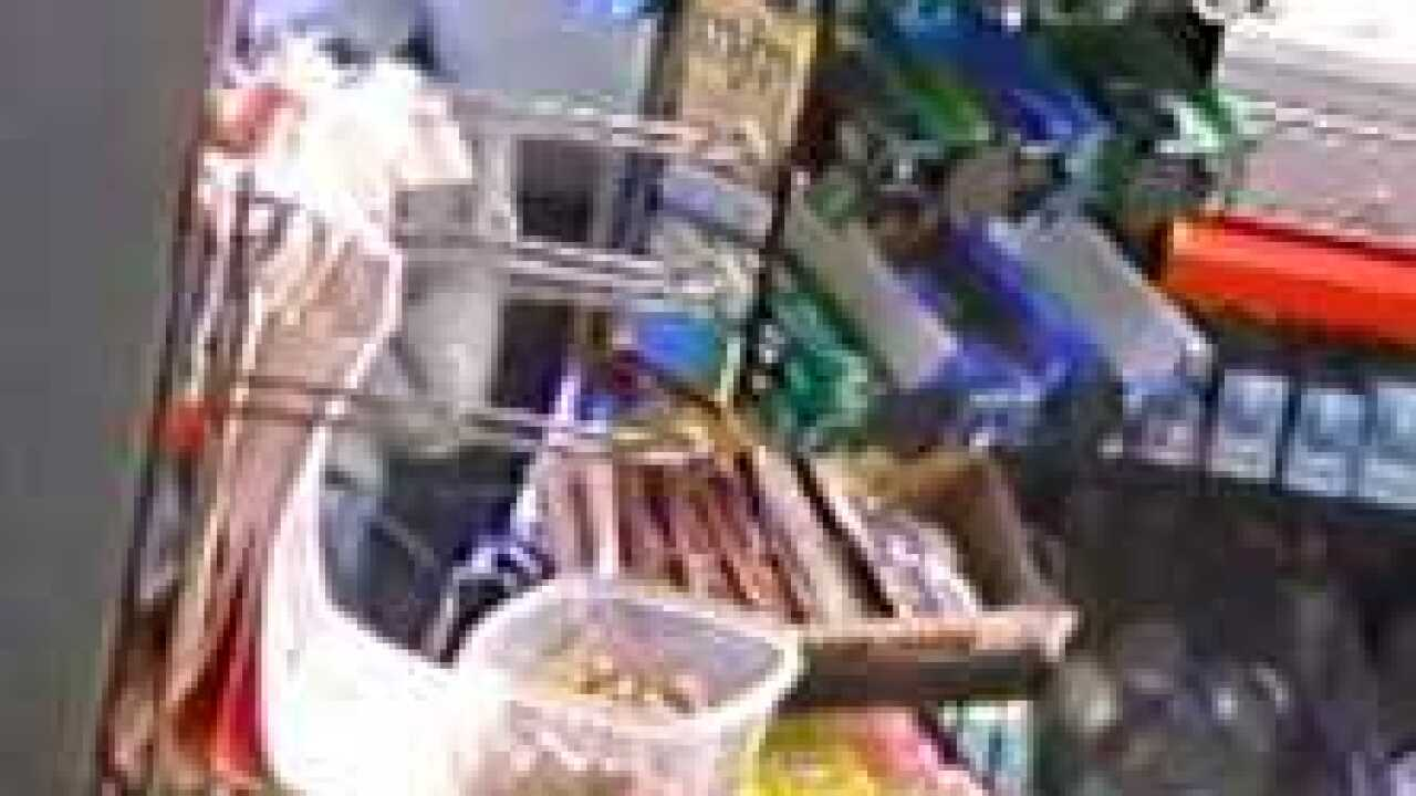 Man robs convenience store while on bike