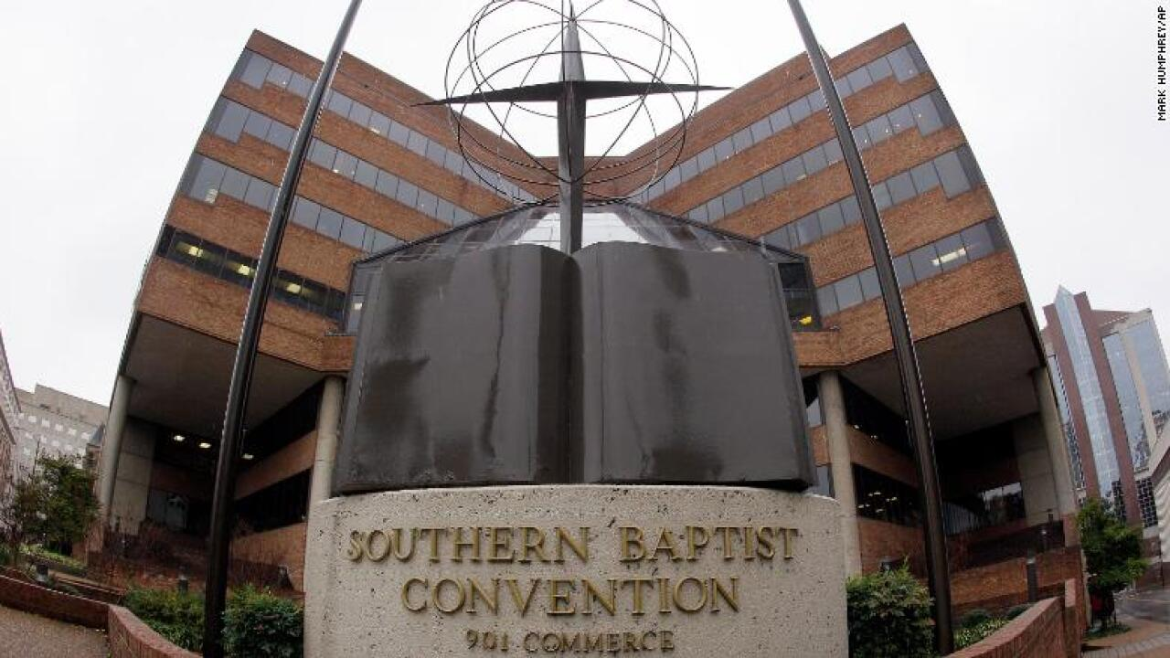 Southern Baptists approve measure to remove churches over clergy abuse