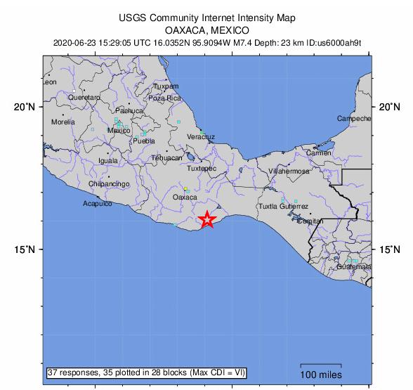 oaxaca earthquake